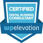 Digital Business Consultant Badge for Wordpress